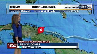 8 a.m. Hurricane Irma advisory - Video