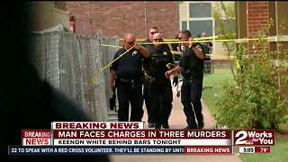 Man faces charges in three murders - Video