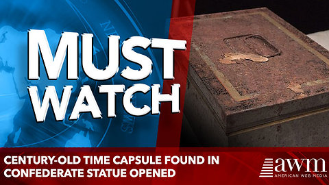 Century-old time capsule found in Confederate statue opened
