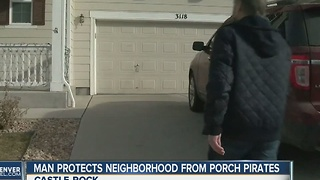 Man launches package watchdog service to fight back against porch pirates - Video