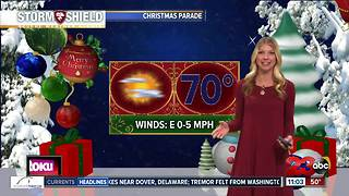 A look ahead to the Bakersfield Christmas Parade forecast - Video