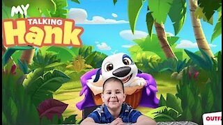 My Talking Hank: Android & iOS GamePlay