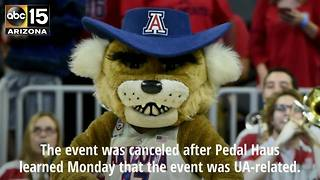 Tempe brewery cancels scheduled UA event - ABC15 Sports - Video