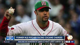 Ex-MLB pitcher faces drug charges in San Diego - Video