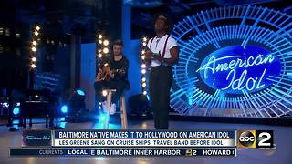 Baltimore native makes it to Hollywood round on American Idol