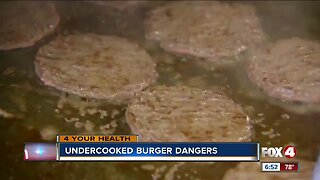 Officials warn the public of undercooked meat