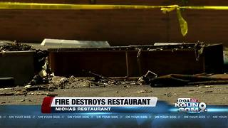Iconic south Tucson restaurant destroyed in fire - Video