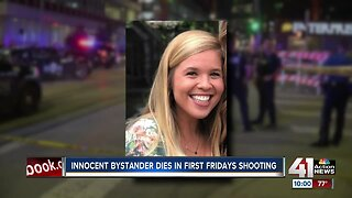 Innocent bystander dies in First Fridays shooting