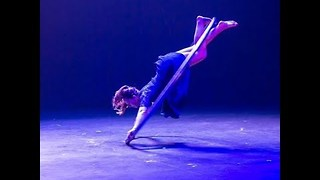 Acrobatic Wows Audience in Cyr Wheel Showcase Act - Video