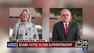Scottsdale Unified School District votes to fire Superintendent - Video