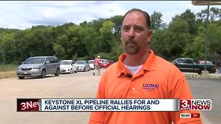 Sunday rallies over Keystone XL Pipeline - Video