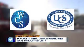 Local schools working to boost security in wake of shootings
