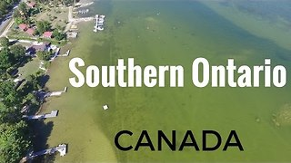 Drone Shoots Vivid Footage of Southern Ontario - Video