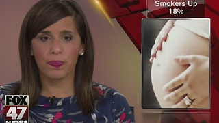 Report: More pregnant women are smoking in Michigan