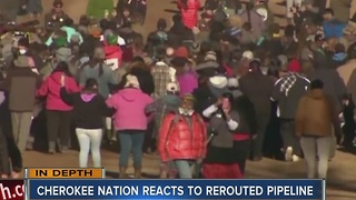 Local Native American tribe reacts to the latest Dakota Acess Pipeline decision - Video