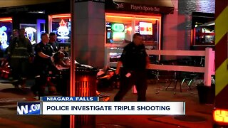 Triple shooting in Niagara Falls