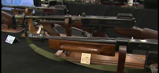 Gun sales down compard to January