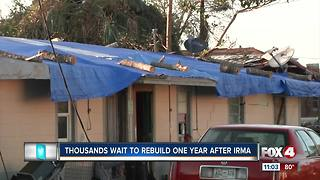 Rebuilding one year after Hurricane Irma