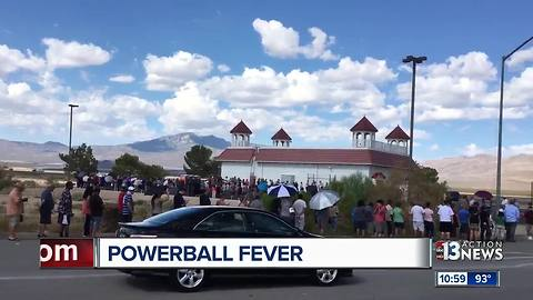 powerball line in primm
