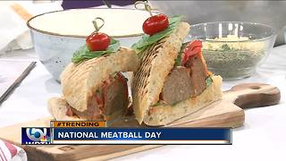 Vic and Angelo's cooks meatballs for 'National Meatball Day'
