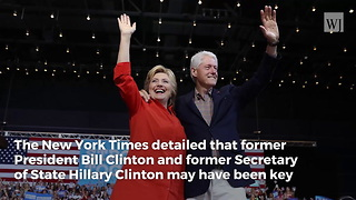 New York Times Report: Bill and Hillary Were Key Players in Weinstein Cover-Up - Video