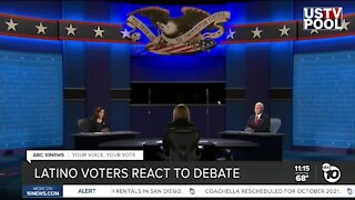 Voters want Latino issues addressed during debates