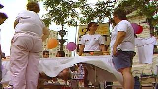 Video of 1990 Circle City Pride festival