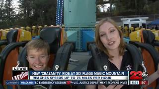 23ABC and Six Flags new ride 'Crazanity'