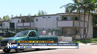 Proposal would prevent affordable housing discrimination in San Diego - Video