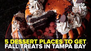 5 dessert places to get fall treats in Tampa Bay | Taste and See Tampa Bay