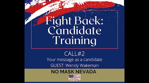Call 2: Your message as a candidate