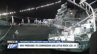 USS Little Rock Association gears up for special ceremony ahead of commissioning ceremony for the USS Little Rock LCS-9 - Video