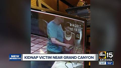 Kidnapped California woman spotted near the Grand Canyon