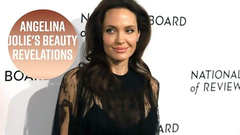 Angelina Jolie reveals her beauty rules