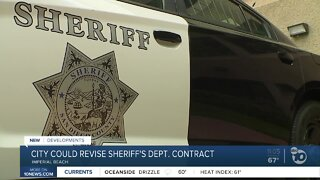 Imperial Beach votes to look into sheriff's contract