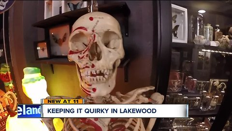 A paranormal store in Lakewood is the newest neighbor in a city of quirky shops