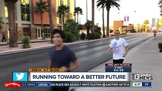 Running toward a better future