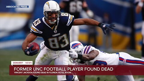 Former Widefield High, UNC standout Vincent Jackson found dead in Florida hotel room