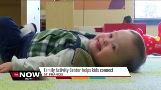 St. Francis family activity center helps kids with special needs connect - Video
