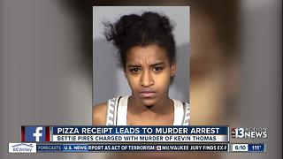 Pizza Hut receipt leads to murder arrest
