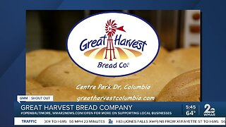 """Great Harvest Bread Company says """"We're Open Baltimore!"""""""