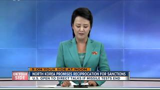 North Korea promises reciprocation for sanctions - Video