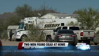 Two men found dead in a home west of Tucson