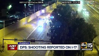 DPS investigating possible road rage shooting on I-17