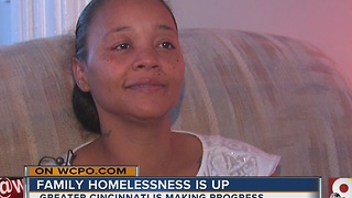 Family homelessness is up, but Greater Cincinnati is making progress - Video