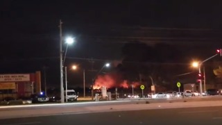 Fire Breaks Out During Fireworks Shows at Carrum Downs