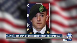 Flags lowered in Colorado for Fort Carson Green Beret - Video