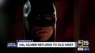 Actor Val Kilmer in Tombstone this weekend - Video