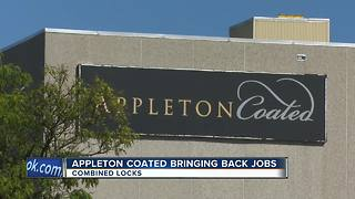 Hundreds of jobs returning to Fox Valley - Video