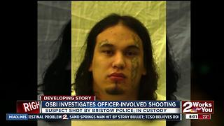 OSBI investigating officer-involved shooting
